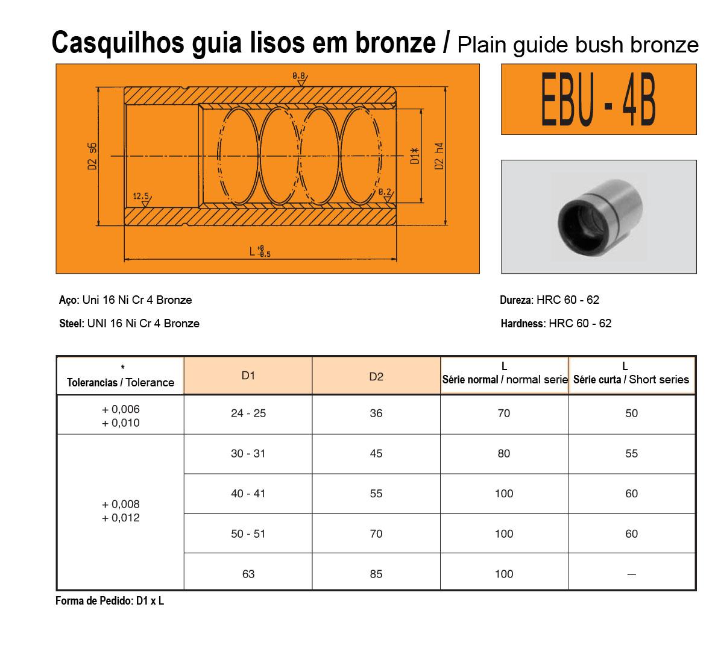 Casquilhos EBU-4B