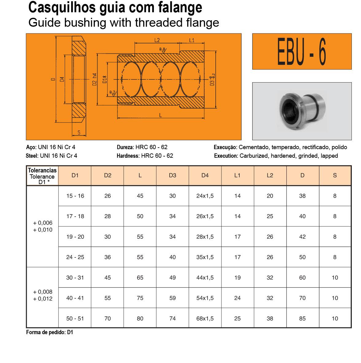 Casquilhos EBU-6