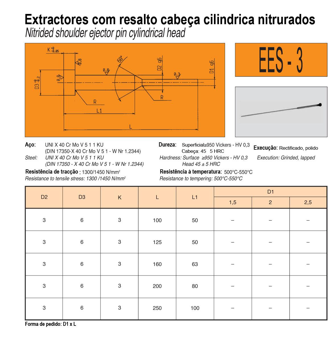 Extractores C/Resalto EES-3