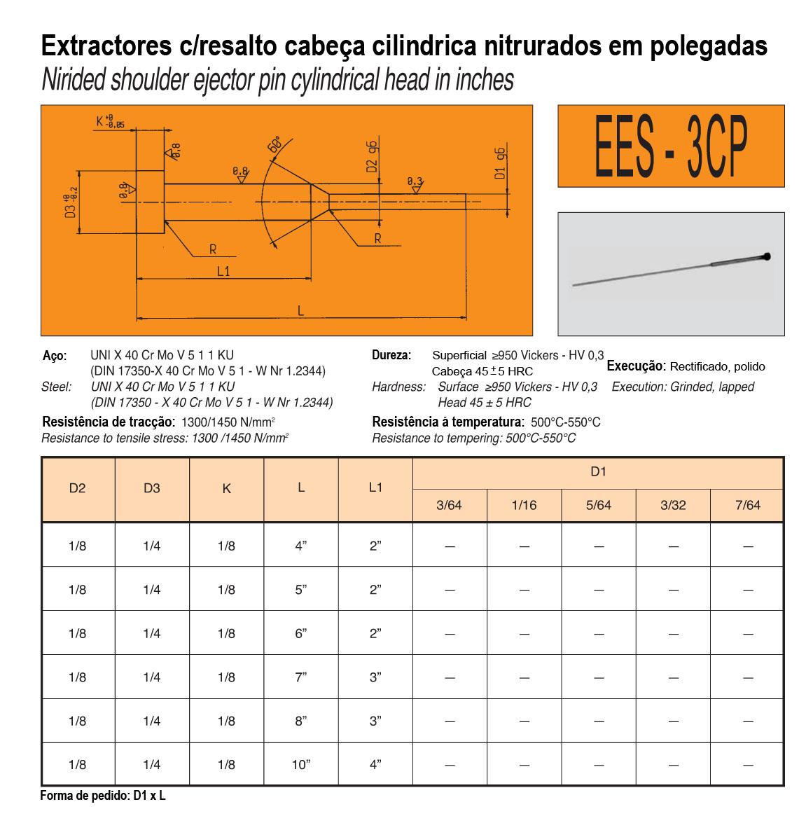 Extractores C/Resalto EES-3CP