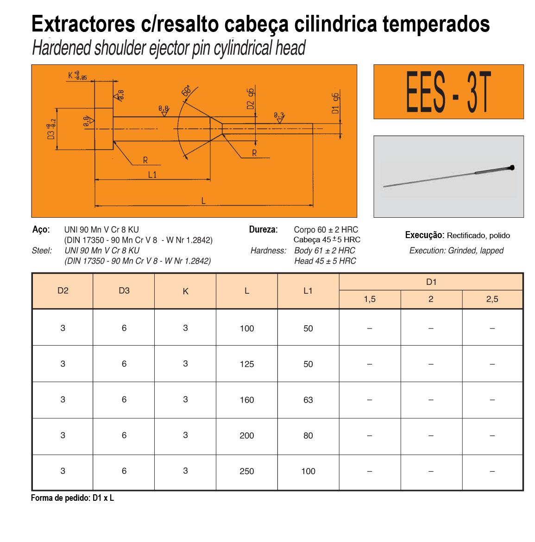 Extractores C/Resalto EES-3T